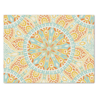 Indian Kaleidoscope Art Tissue Paper