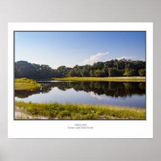 Indian Lake Poster