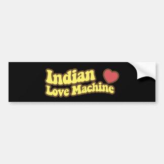 Indian Love Machine Bumper Sticker