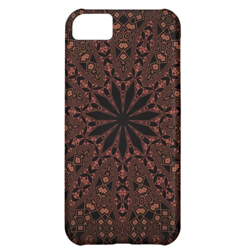 indian mandala pattern cover for iPhone 5C