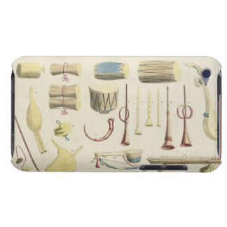 Indian Musical Instruments, plate 23 from 'Orienta iPod Touch Case-Mate Case