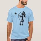 Indian North Star Bow and Arrow Pop Art T-Shirt