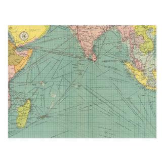 Indian Ocean 3 Postcard