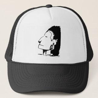 Indian or Eskimo Optical Illusion Trucker Hat