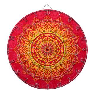 Indian ornament dartboard