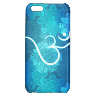 Indian ornament pattern with ohm symbol cover for iPhone 5C
