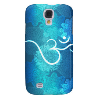 Indian ornament pattern with ohm symbol galaxy s4 cases