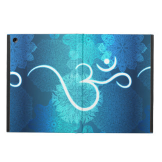 Indian ornament pattern with ohm symbol iPad air case