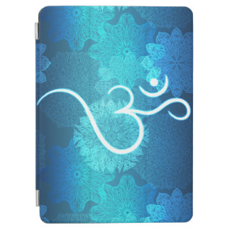 Indian ornament pattern with ohm symbol iPad air cover