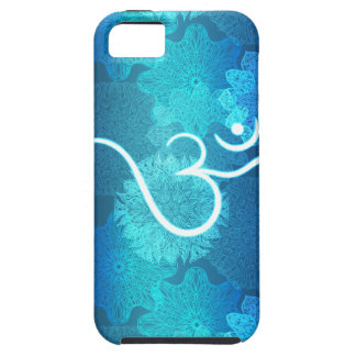 Indian ornament pattern with ohm symbol iPhone 5 case