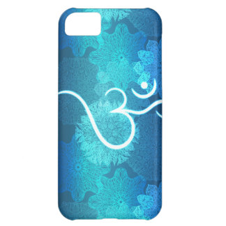 Indian ornament pattern with ohm symbol iPhone 5C case