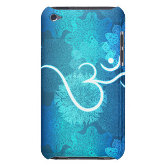 Indian ornament pattern with ohm symbol iPod touch cases