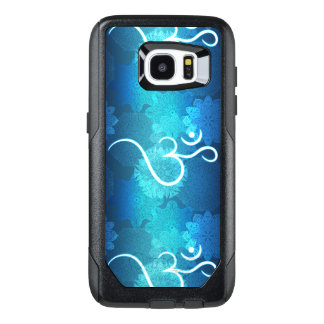 Indian ornament pattern with ohm symbol OtterBox samsung galaxy s7 edge case