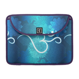 Indian ornament pattern with ohm symbol sleeve for MacBook pro