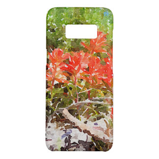 Indian Paint Brush WildFlower Watercolor Case-Mate Samsung Galaxy S8 Case