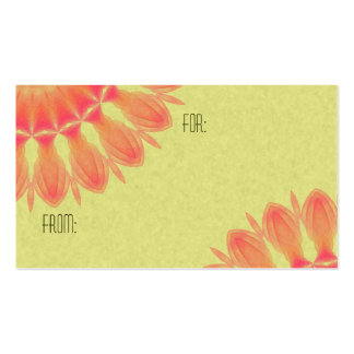 Indian Paintbrush Pack Of Standard Business Cards