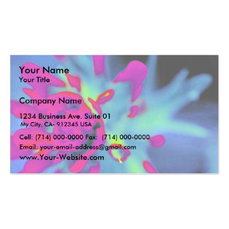 Indian Paintbrush Business Cards