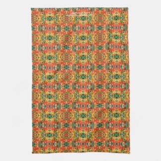 Indian Paintbrush, Castilleja Tea Towel