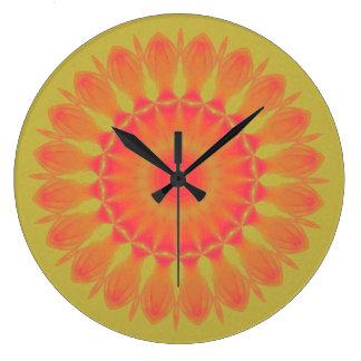 Indian Paintbrush Clocks