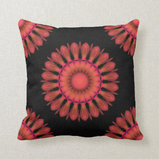 Indian Paintbrush Throw Cushion