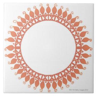 Indian Pattern Ceramic Tile