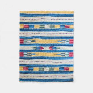Indian pattern fleece blanket
