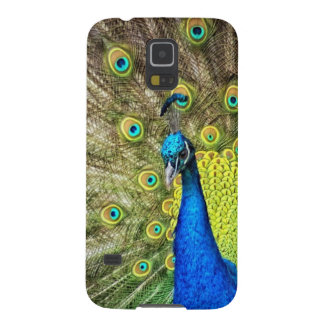 Indian Peacock Galaxy S5 Cover
