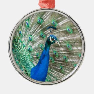 Indian Peacock Metal Ornament