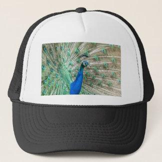 Indian Peacock Trucker Hat