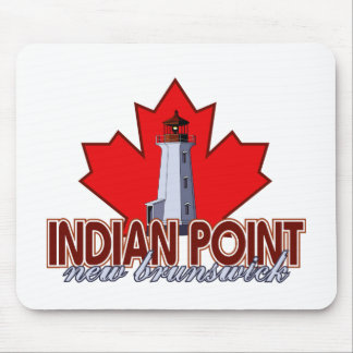Indian Point Lighthouse Mouse Pad