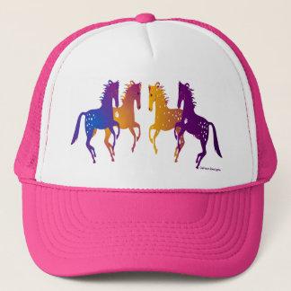 Indian Ponies Adjustable Baseball Cap