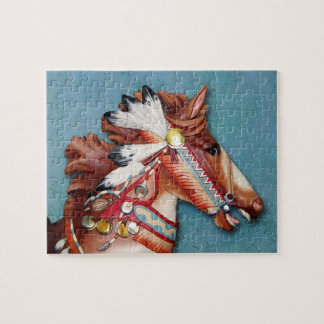 Indian Pony Head puzzle