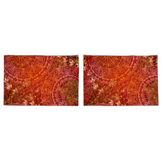 Indian Print Pillow Cases