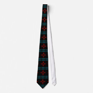 Indian Red Sun Tie