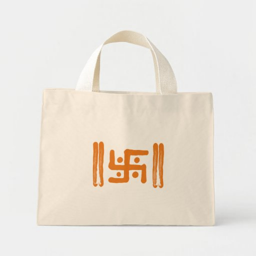 : Indian Religious Symbol Bags