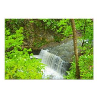 Indian Run Falls, Dublin, Ohio Photo Print