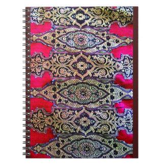 Indian Sari Design Notebook