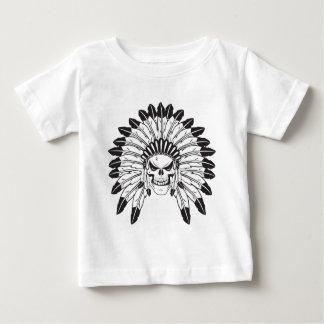 Indian Skull Chief Baby T-Shirt