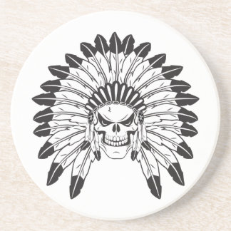 Indian Skull Chief Coaster
