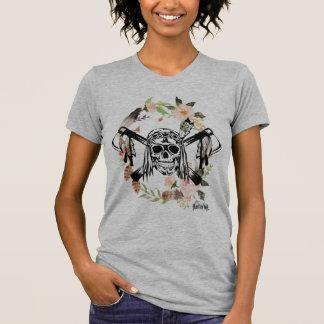 Indian Skull Flower T-Shirt