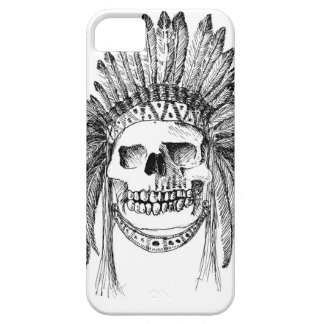 Indian skull on Iphone case. iPhone 5 Covers