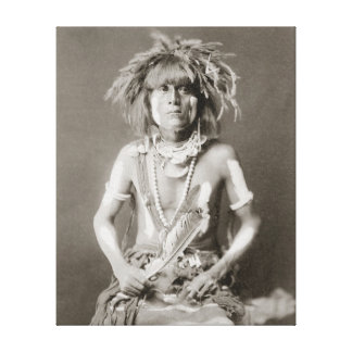 Indian Snake Priest 1910 Gallery Wrap Canvas