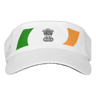 Indian spiral flag visor