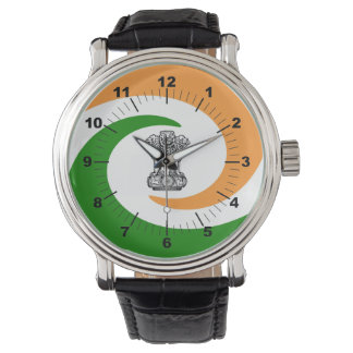 Indian spiral flag watch