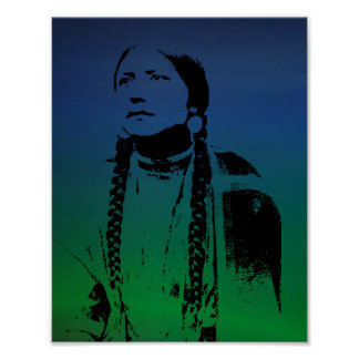Indian Squaw Poster