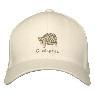 Indian Star Tortoise Embroidered Hat