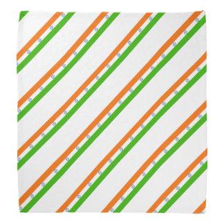 Indian stripes flag bandana