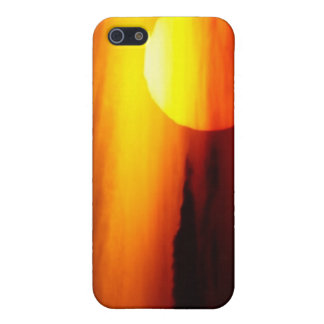 Indian Summer Sunset iPhone 5 Cases
