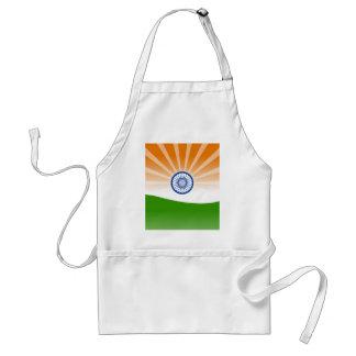 Indian sun standard apron