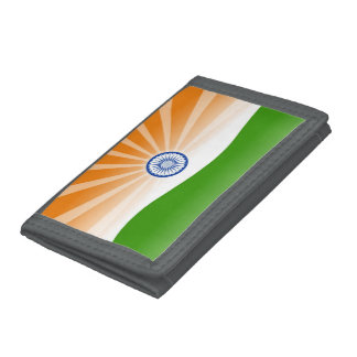 """Indian"" sun Tri-fold Wallets"